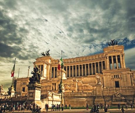 Романтические каникулы в Риме
